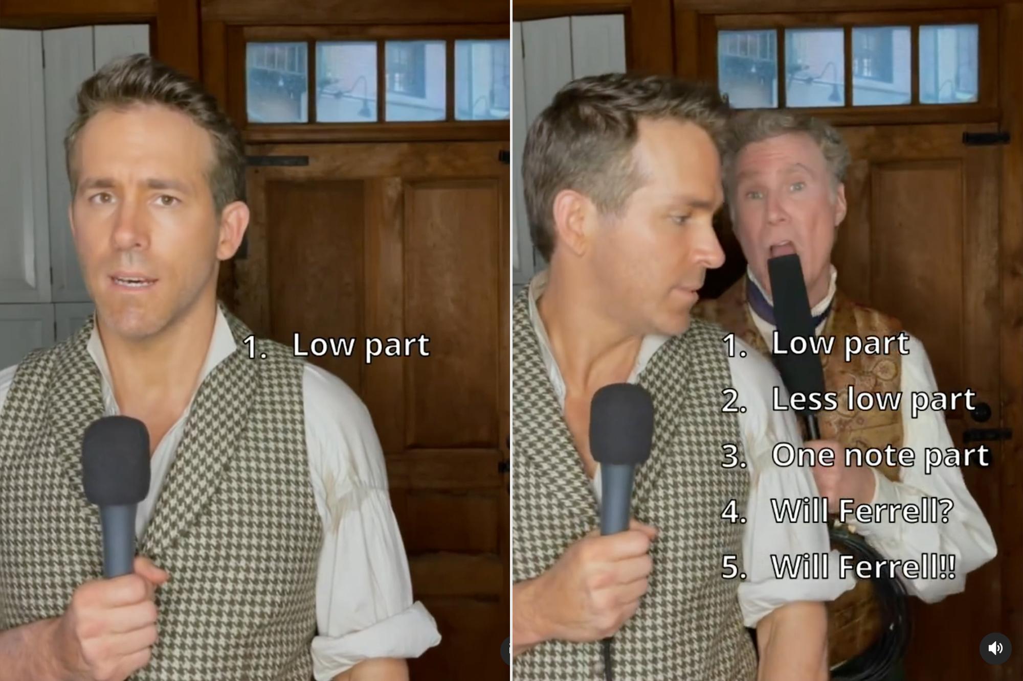 Ryan Reynolds, Will Ferrell