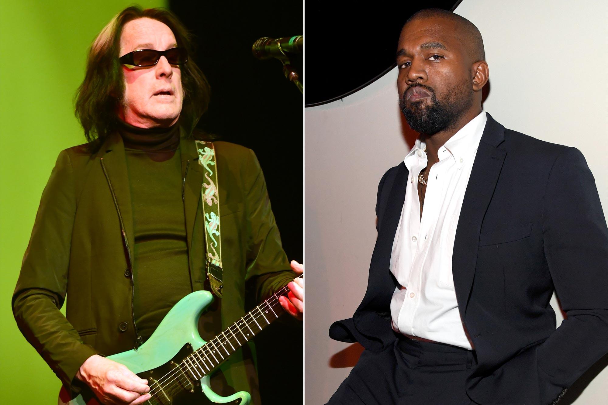 Todd Rundgren and Kanye West