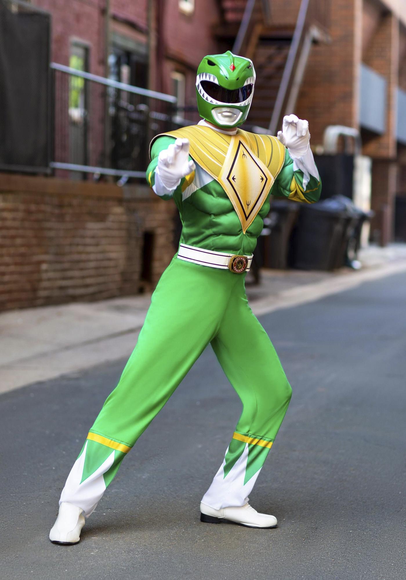 Power Rangers Green Ranger Men's Costume