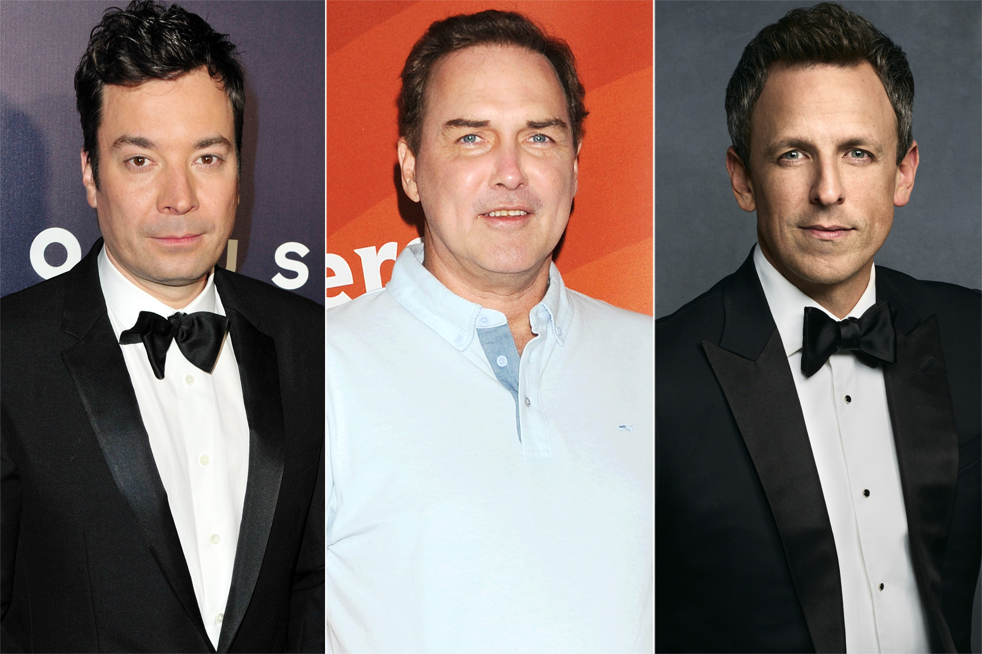 Jimmy Fallon, Norm MacDonald, Seth Meyers