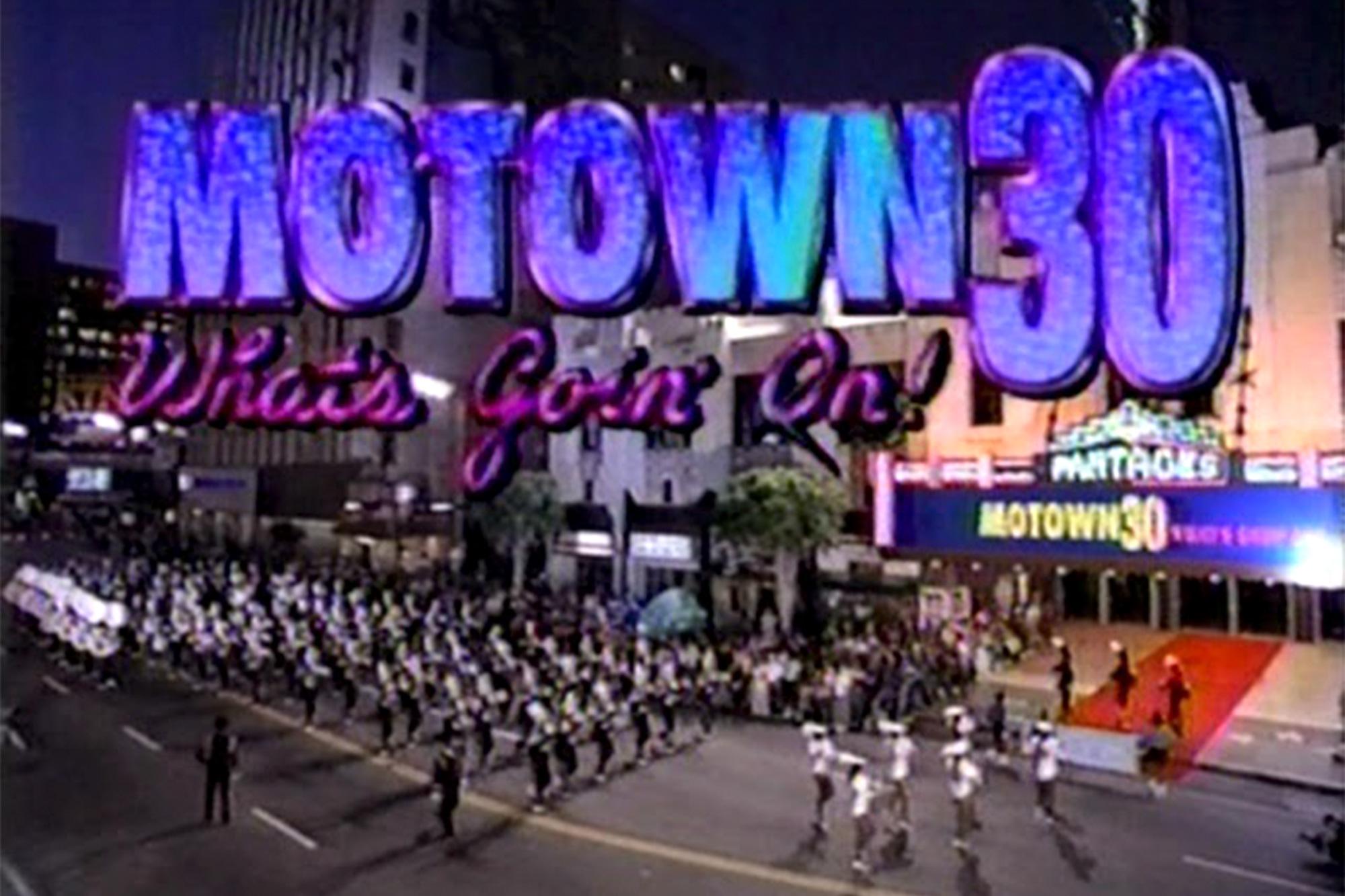 Motown 30th Anniversary