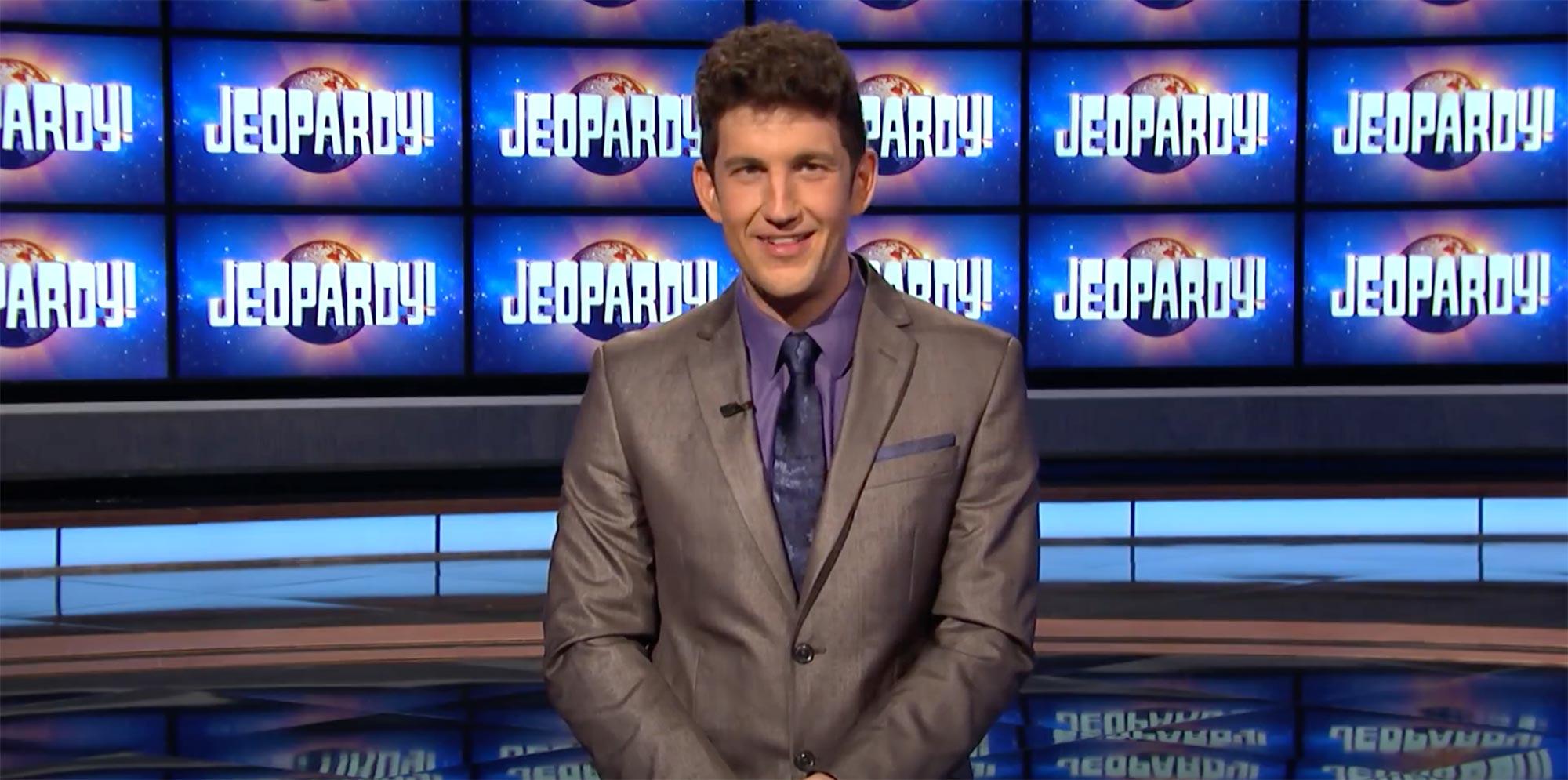 Q&A With Jeopardy! Champion Matt Amodio   JEOPARDY!