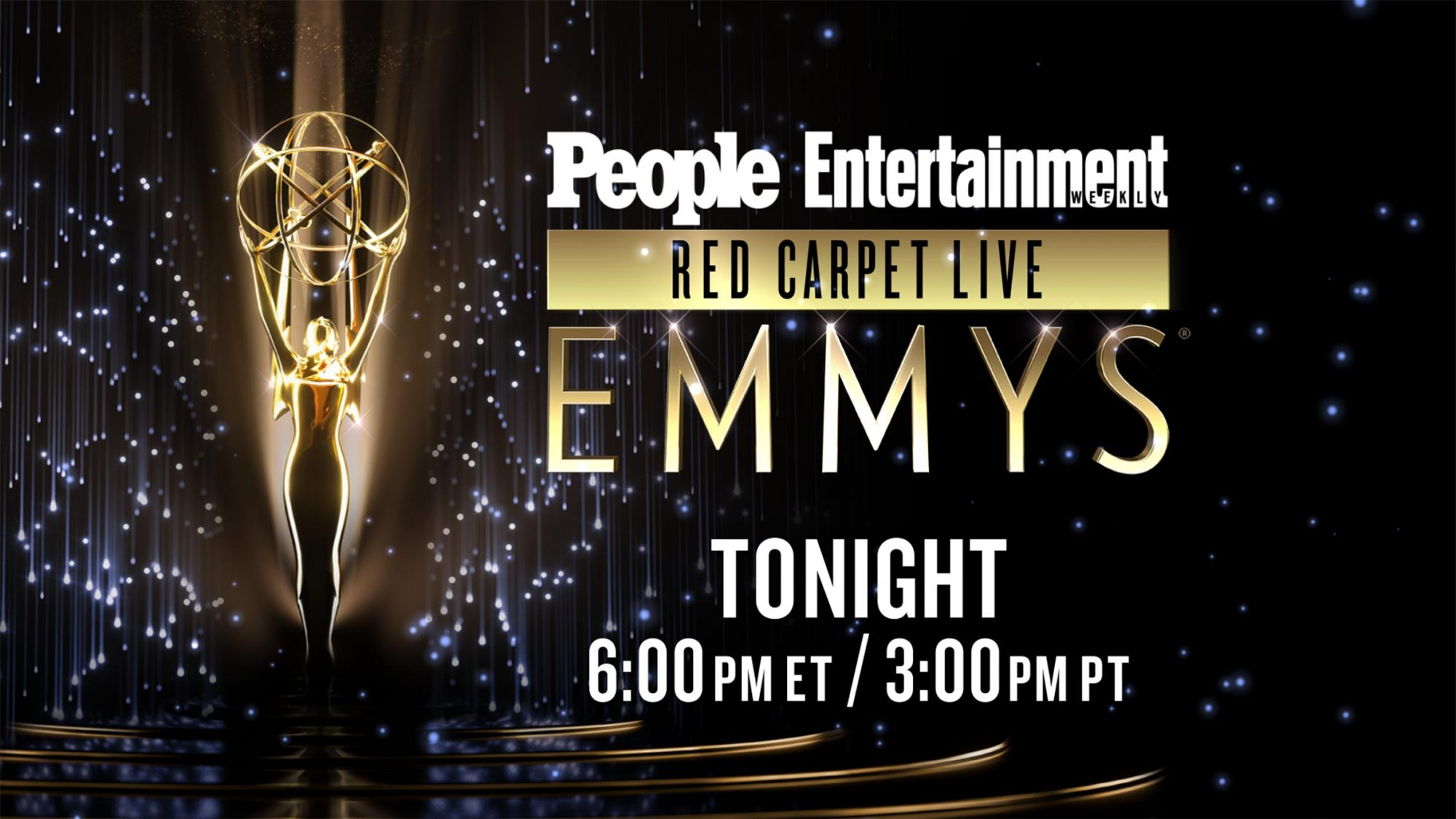 People Entertainment Weekly Red Carpet Live Emmys