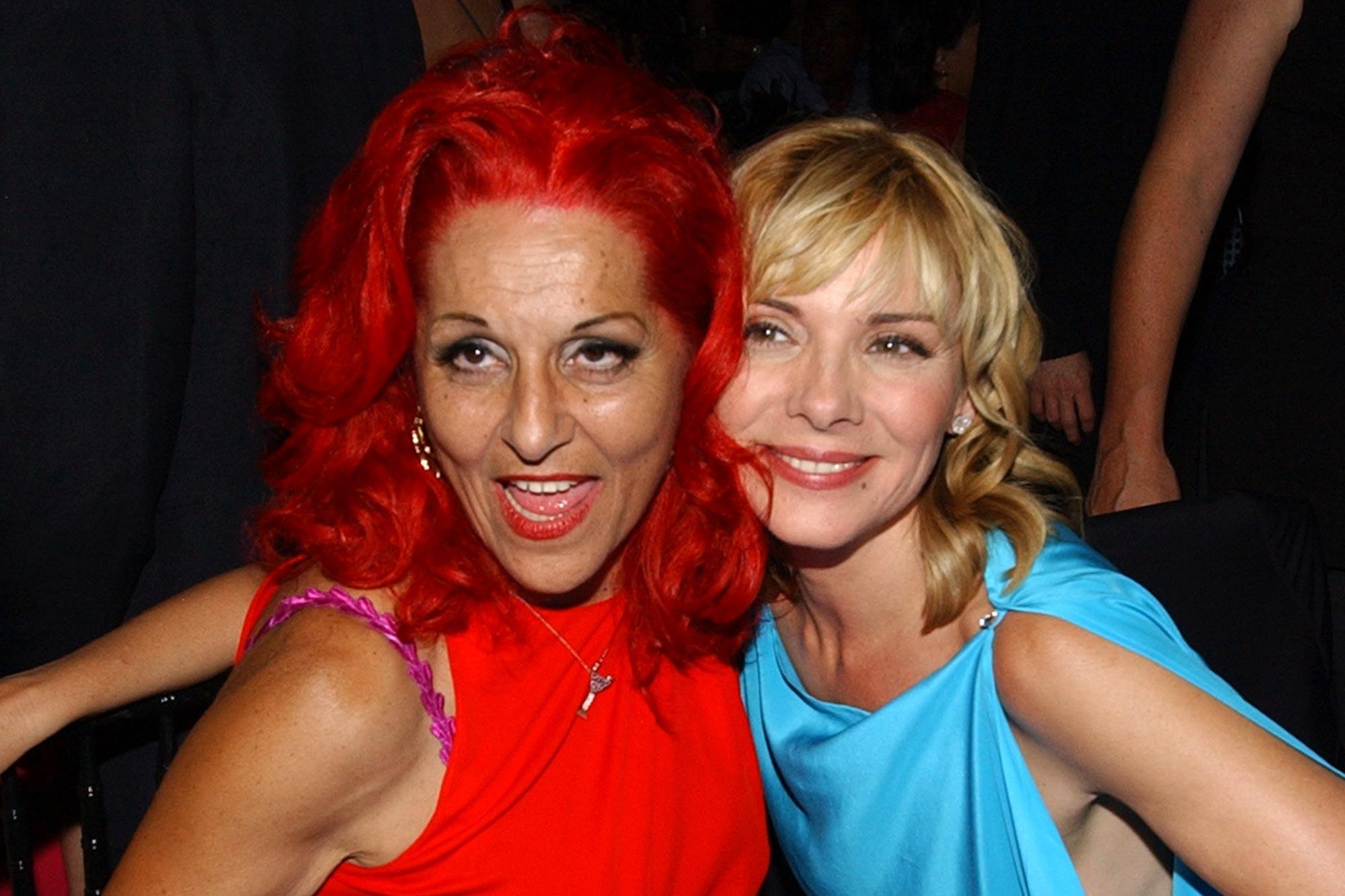 Patricia Field and Kim Cattrall