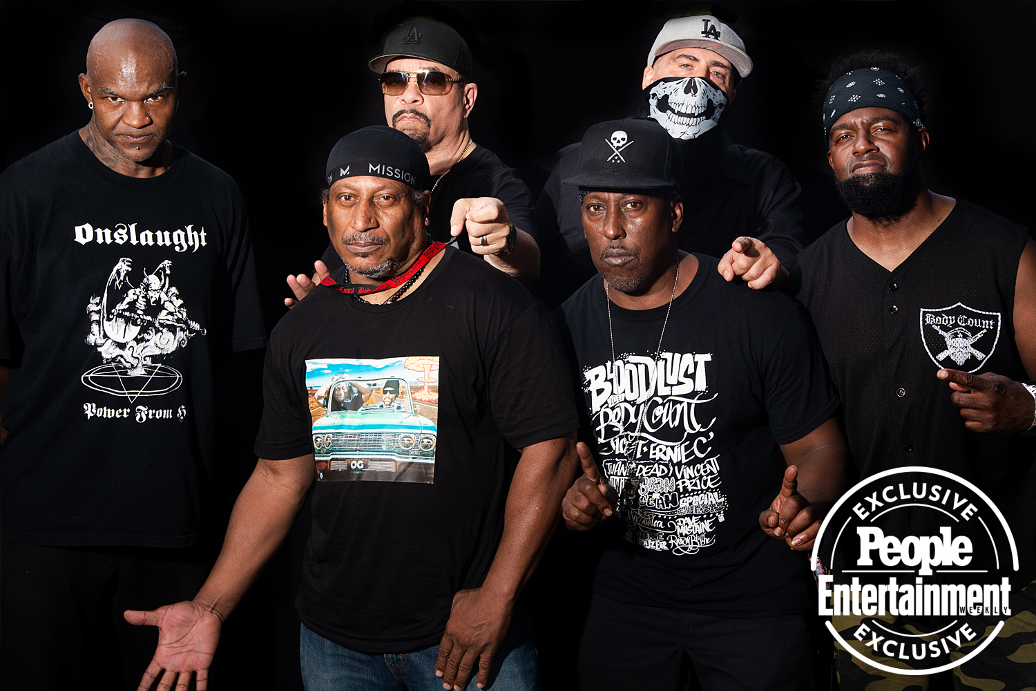Body Count photographed at Riot Fest 2021