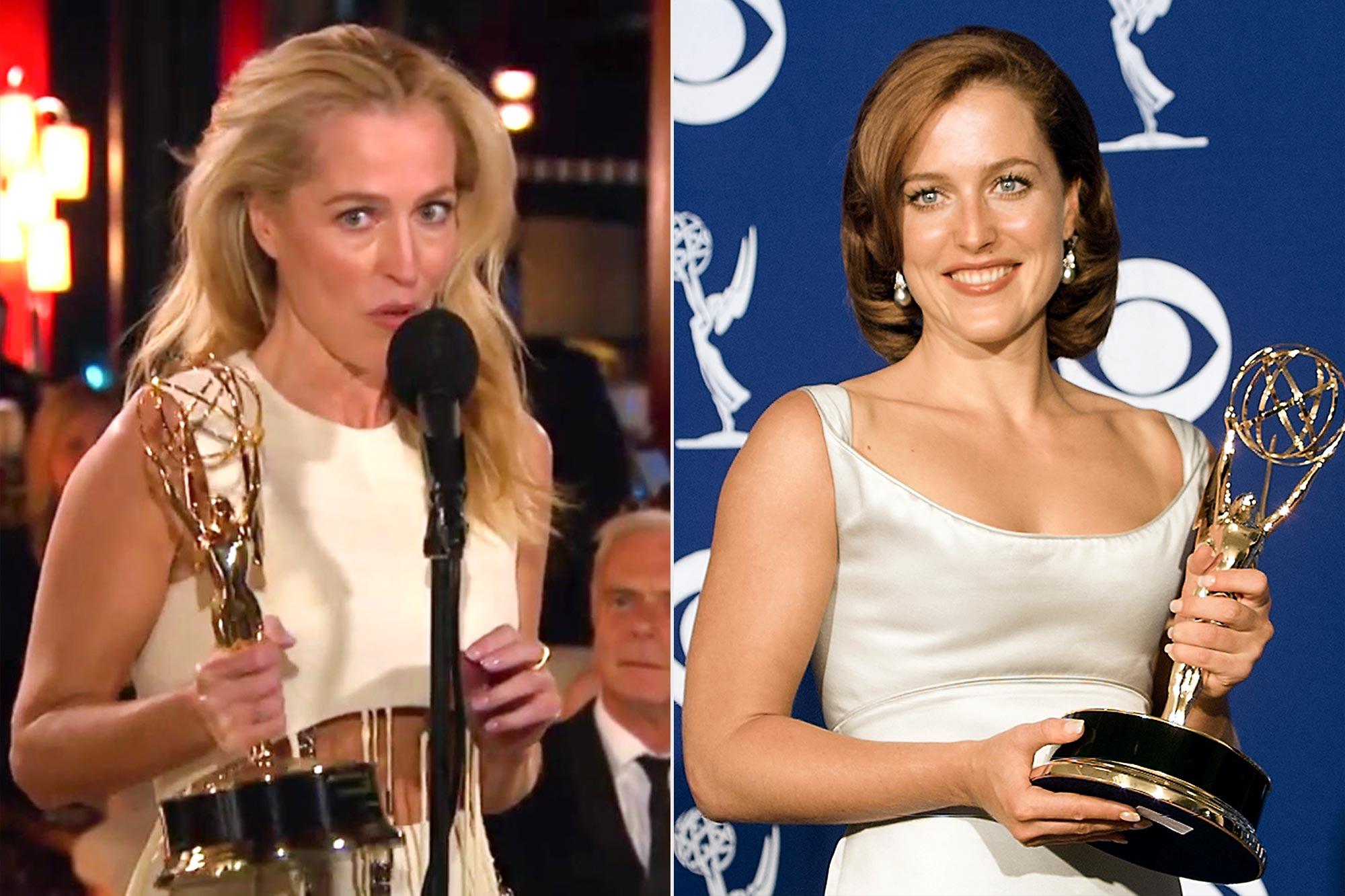 Gillian Anderson Emmy Wins
