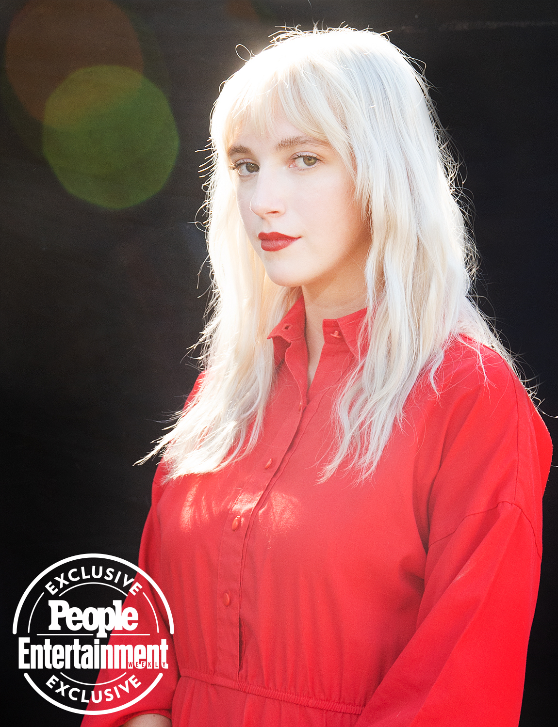 Girlpuppy photographed at Riot Fest 2021