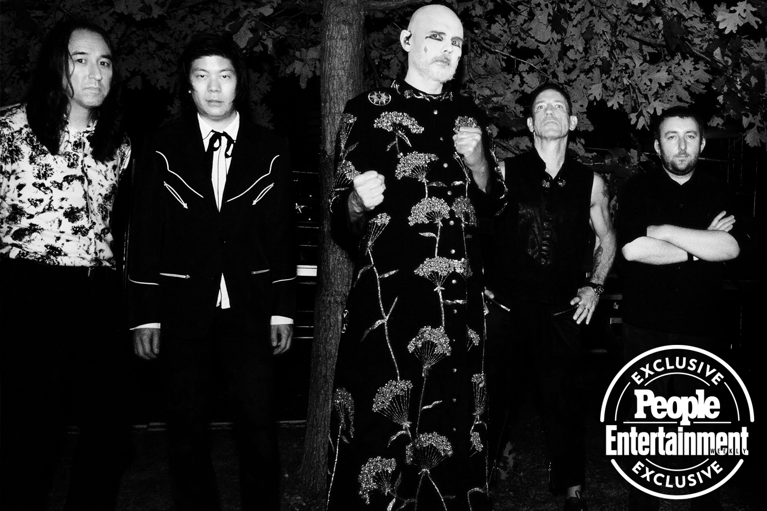 The Smashing Pumpkins photographed at Riot Fest 2021