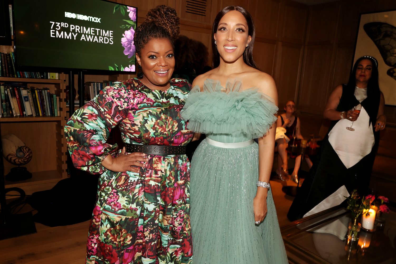 Yvette Nicole Brown and Robin Thede attend the HBO/ HBO Max Post Emmys Reception