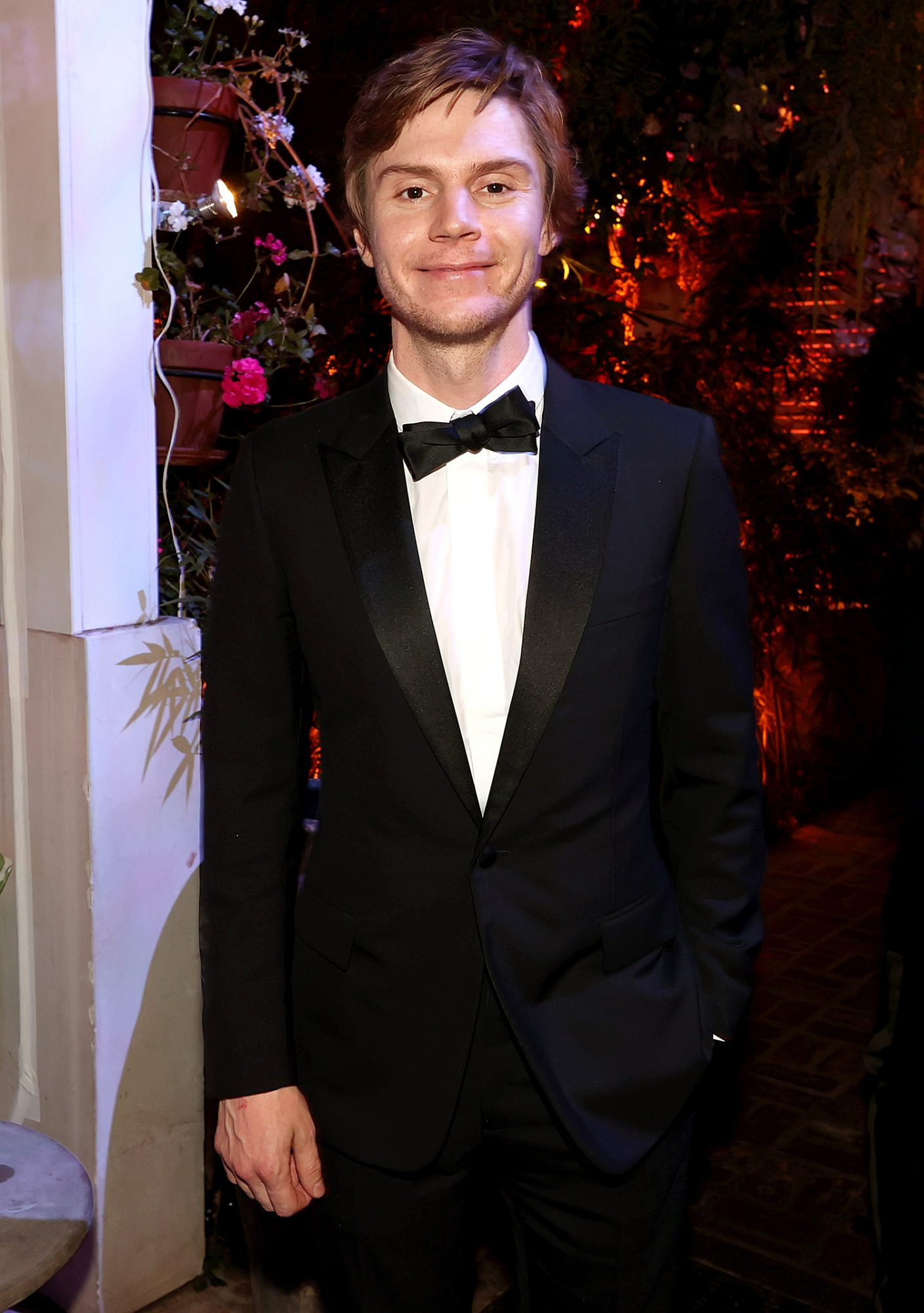 Evan Peters attends the HBO/ HBO Max Post Emmys Reception