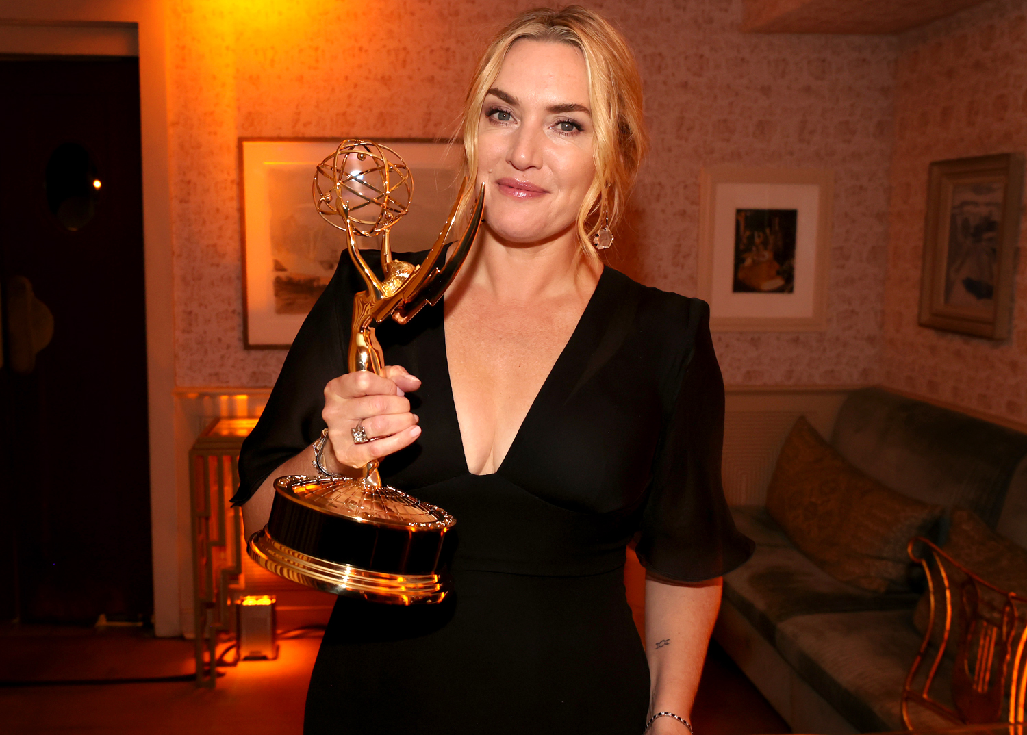 Kate Winslet attends the HBO/ HBO Max Post Emmys Reception