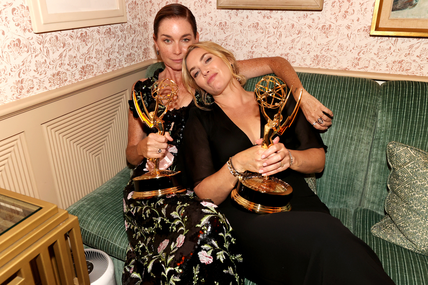 Julianne Nicholson and Kate Winslet attend the HBO/ HBO Max Post Emmys Reception