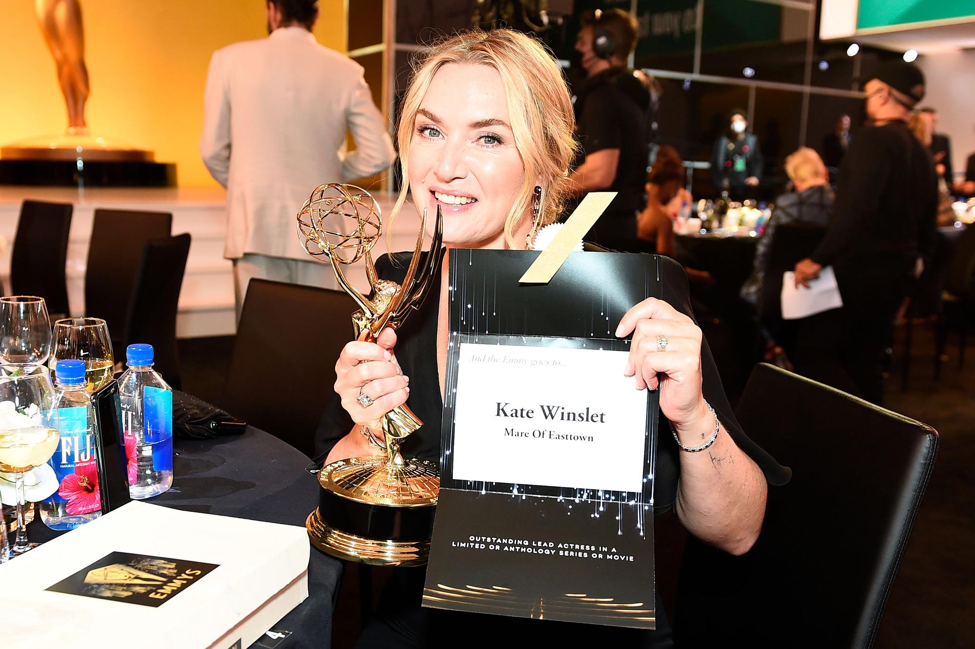Behind the scenes at the Emmys Awards