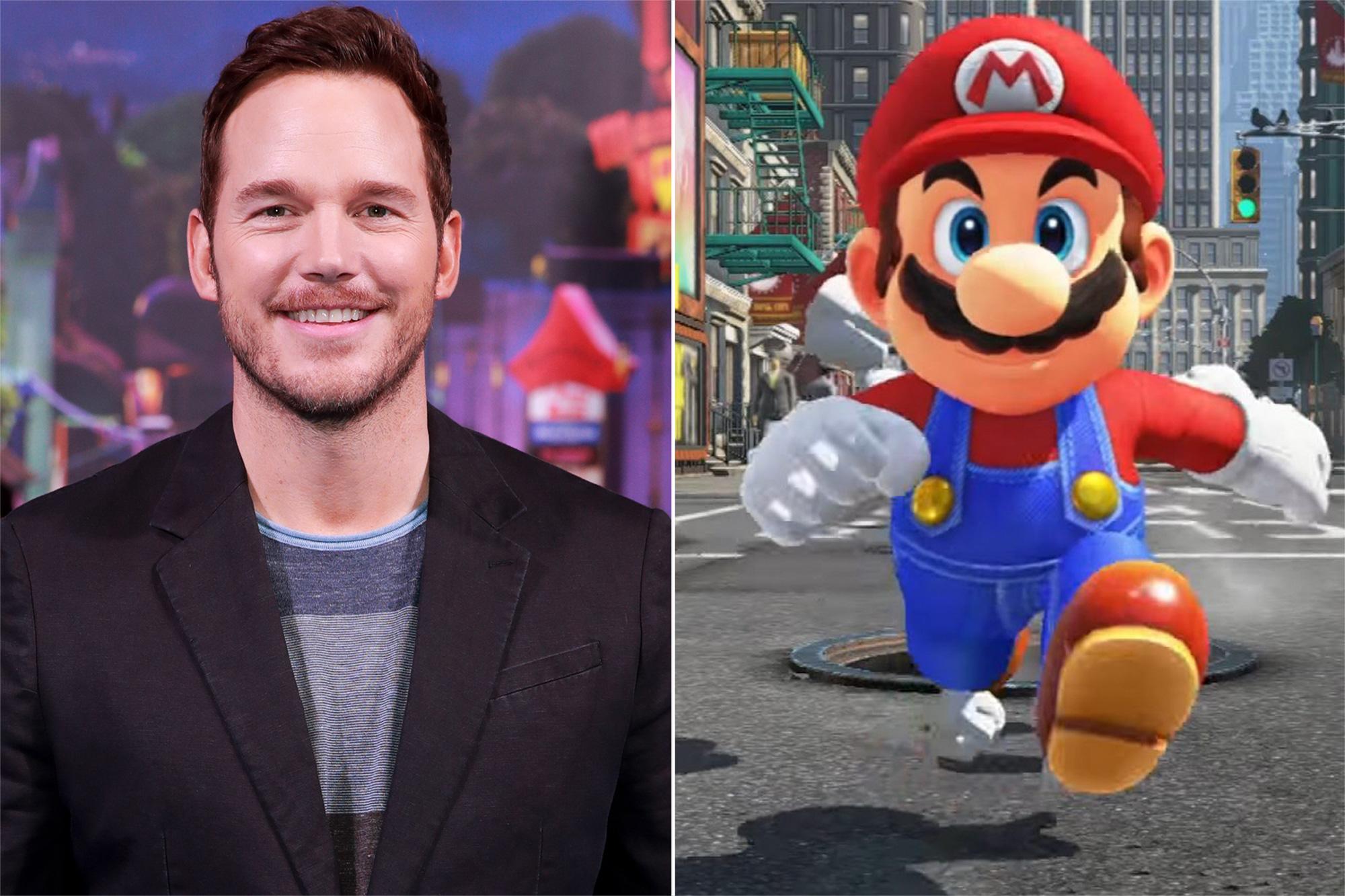 Chris Pratt, Mario