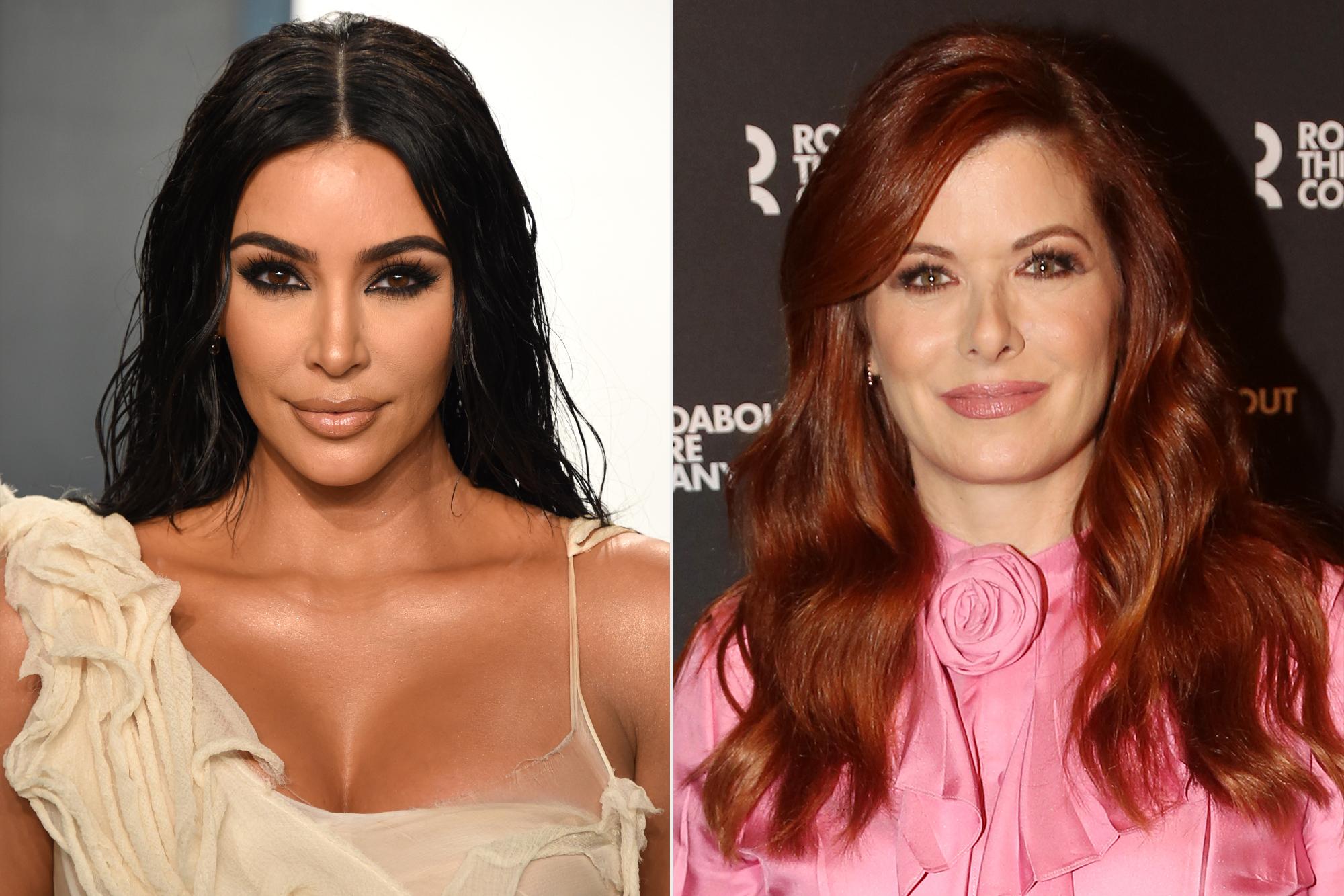 Kim Kardashian; Debra Messing
