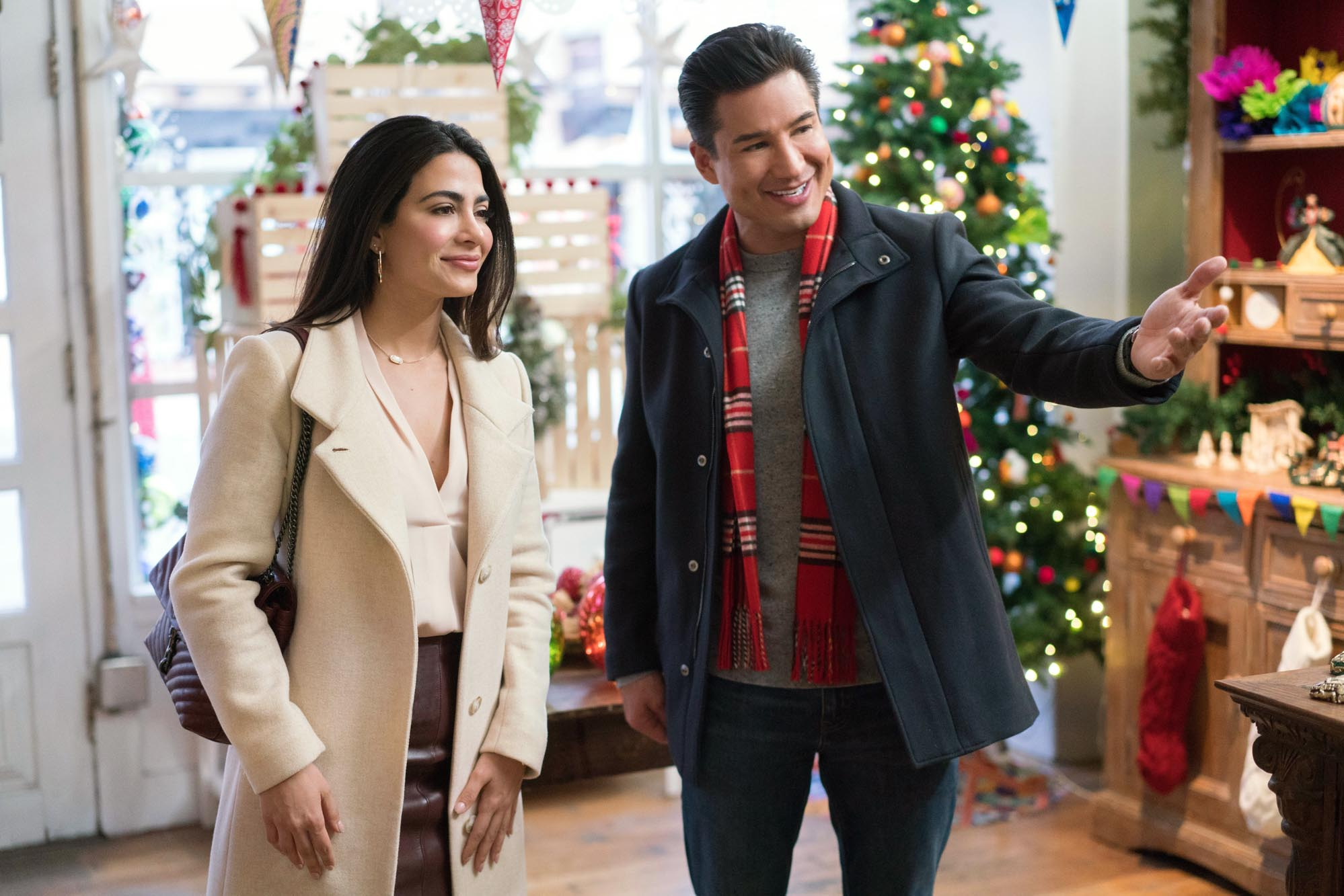 2021 Lifetime Christmas Movies Holiday in Santa Fe