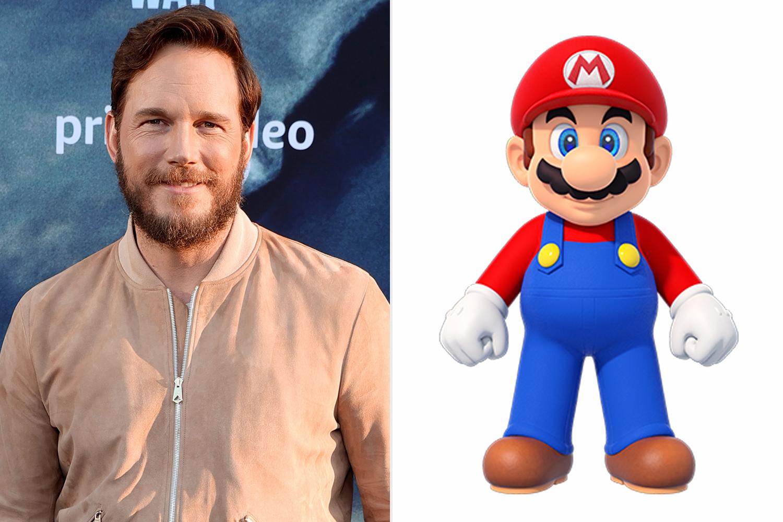 Chris Pratt; Mario