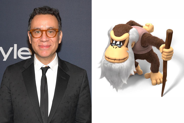 Fred Armisen; Cranky Kong