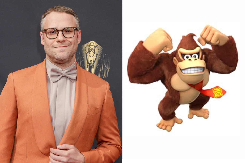 Seth Rogen; Donkey Kong