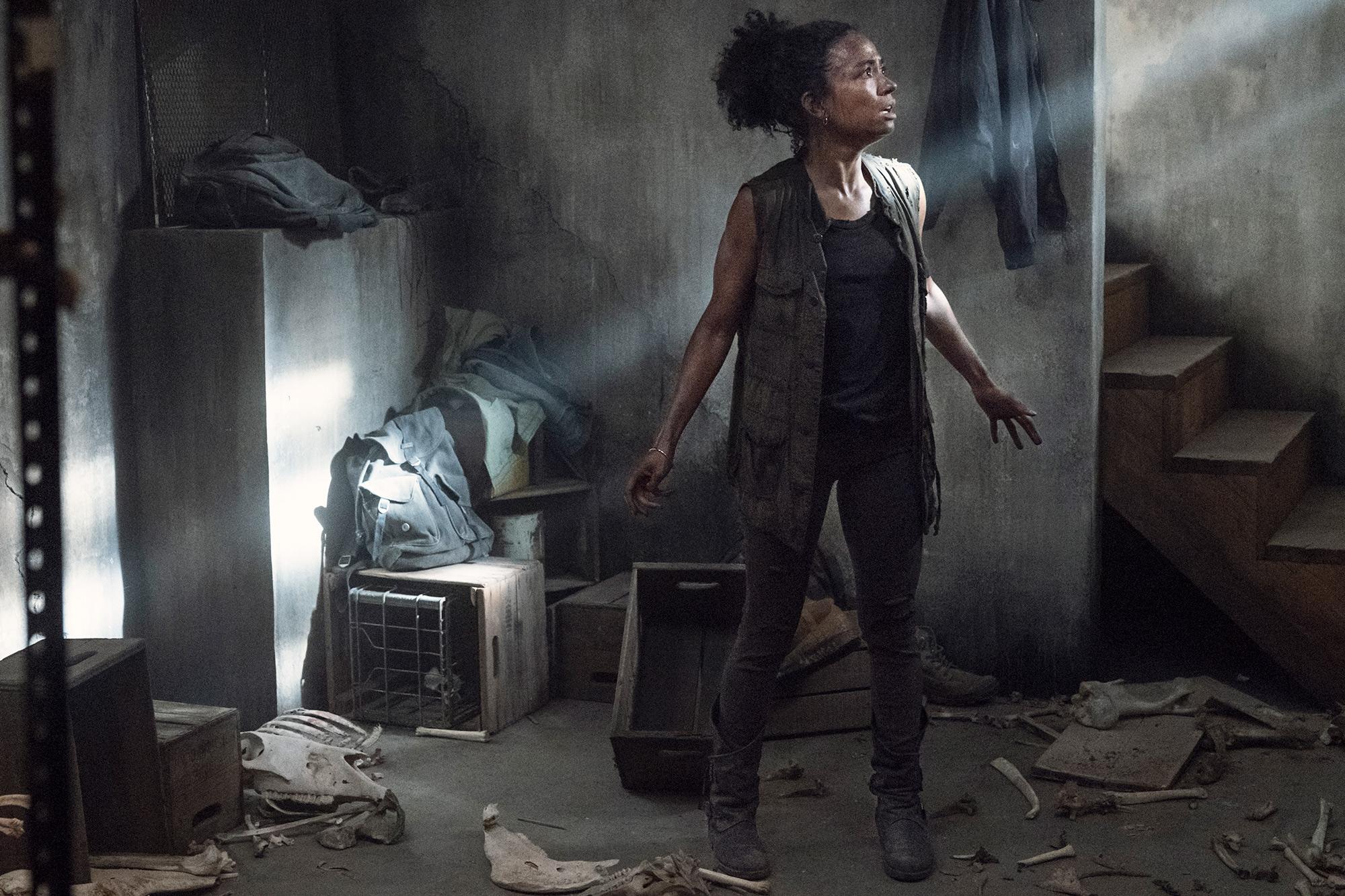 Lauren Ridloff as Connie - The Walking Dead _ Season 11, Episode 6