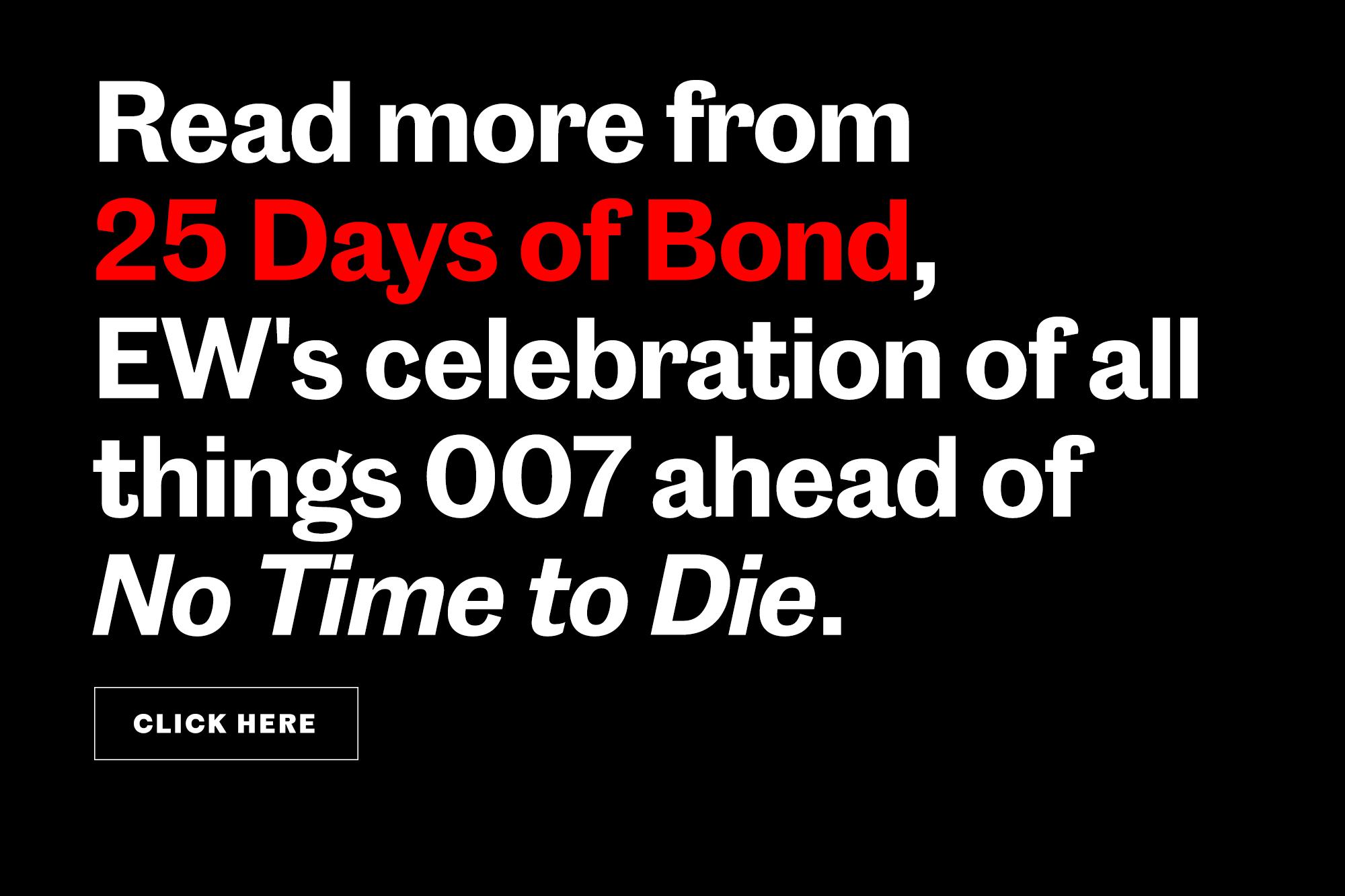 James Bond Tout