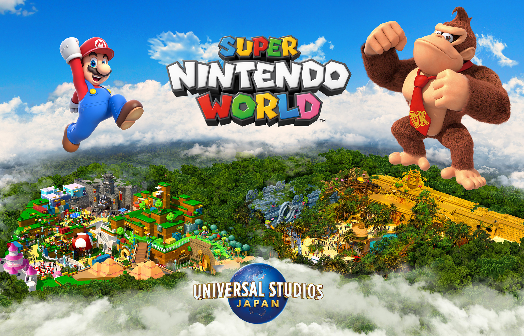 Donkey Kong - Super Nintendo World