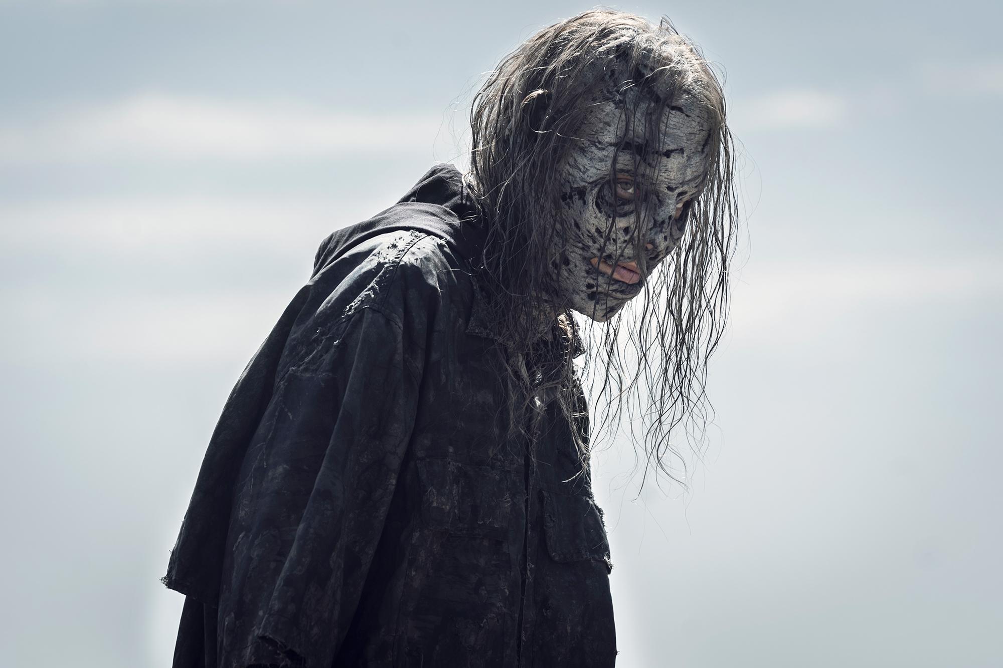 Lauren Cohan as Maggie Rhee in The Walking Dead Season 11, Episode 7