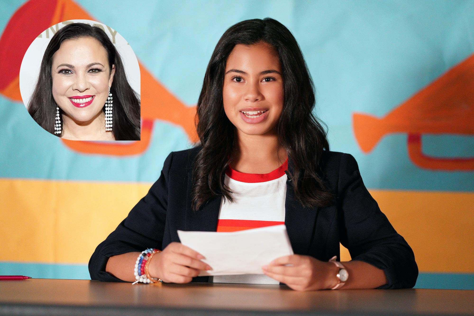 Diary of a Future President (Inset of Gloria Calderon Kellett)