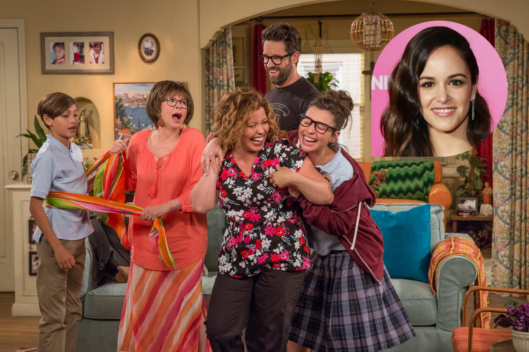 One Day at a Time (Inset of Melissa Fumero)