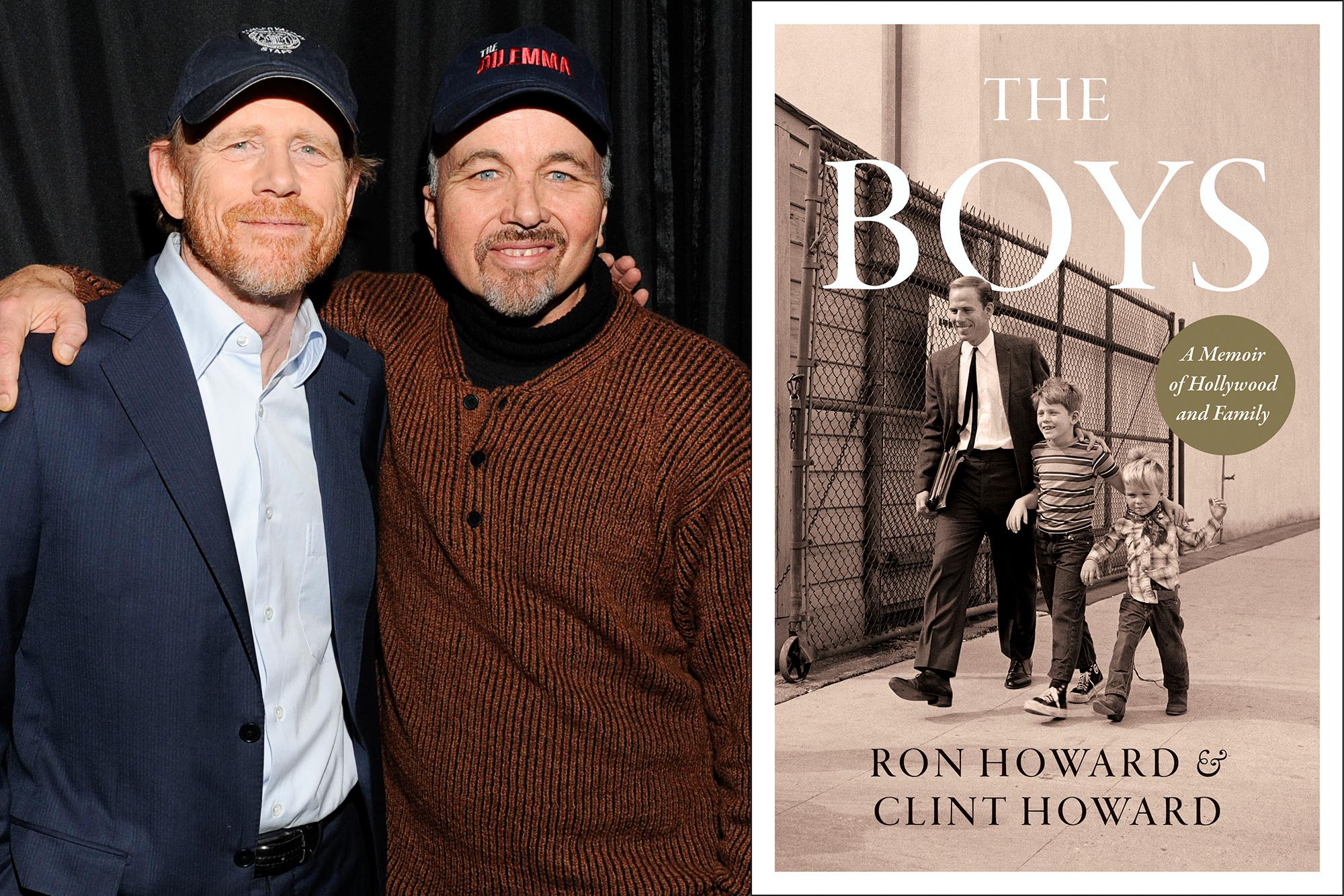 Ron Howard and Clint Howard, HarperCollins