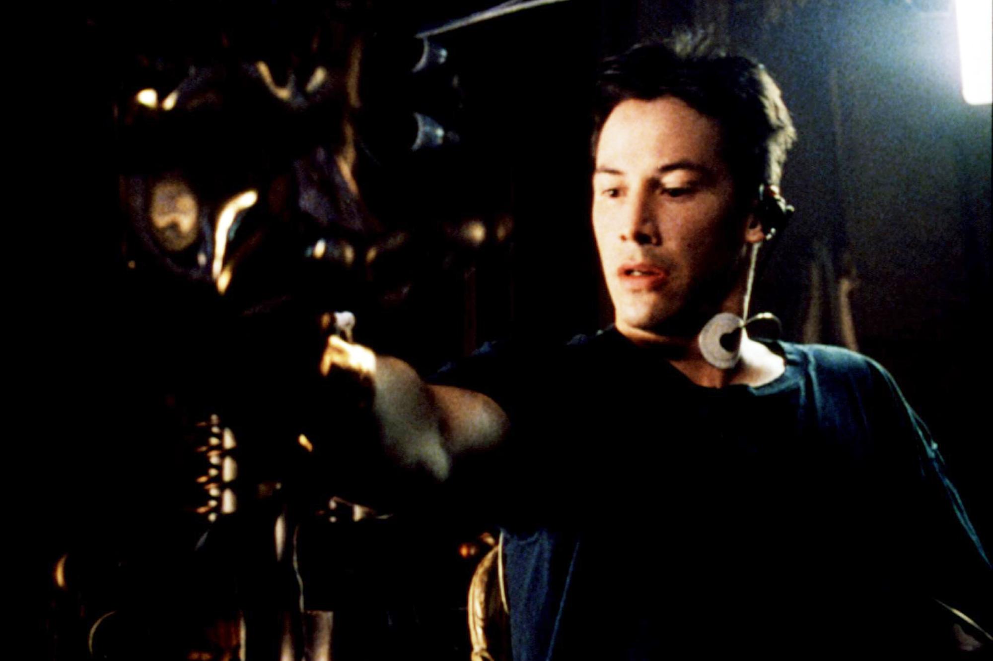 THE MATRIX, Keanu Reeves, 1999.