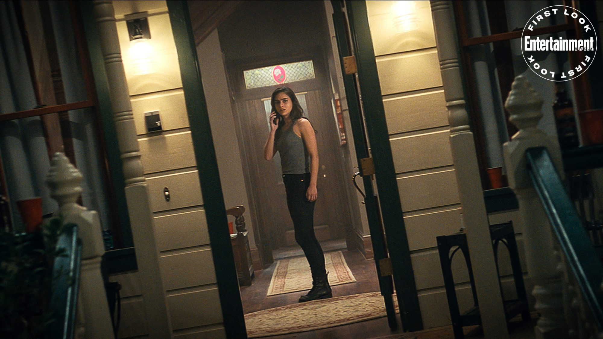 """Melissa Barrera (""""Sam"""") stars in Paramount Pictures and Spyglass Media Group's """"Scream."""""""