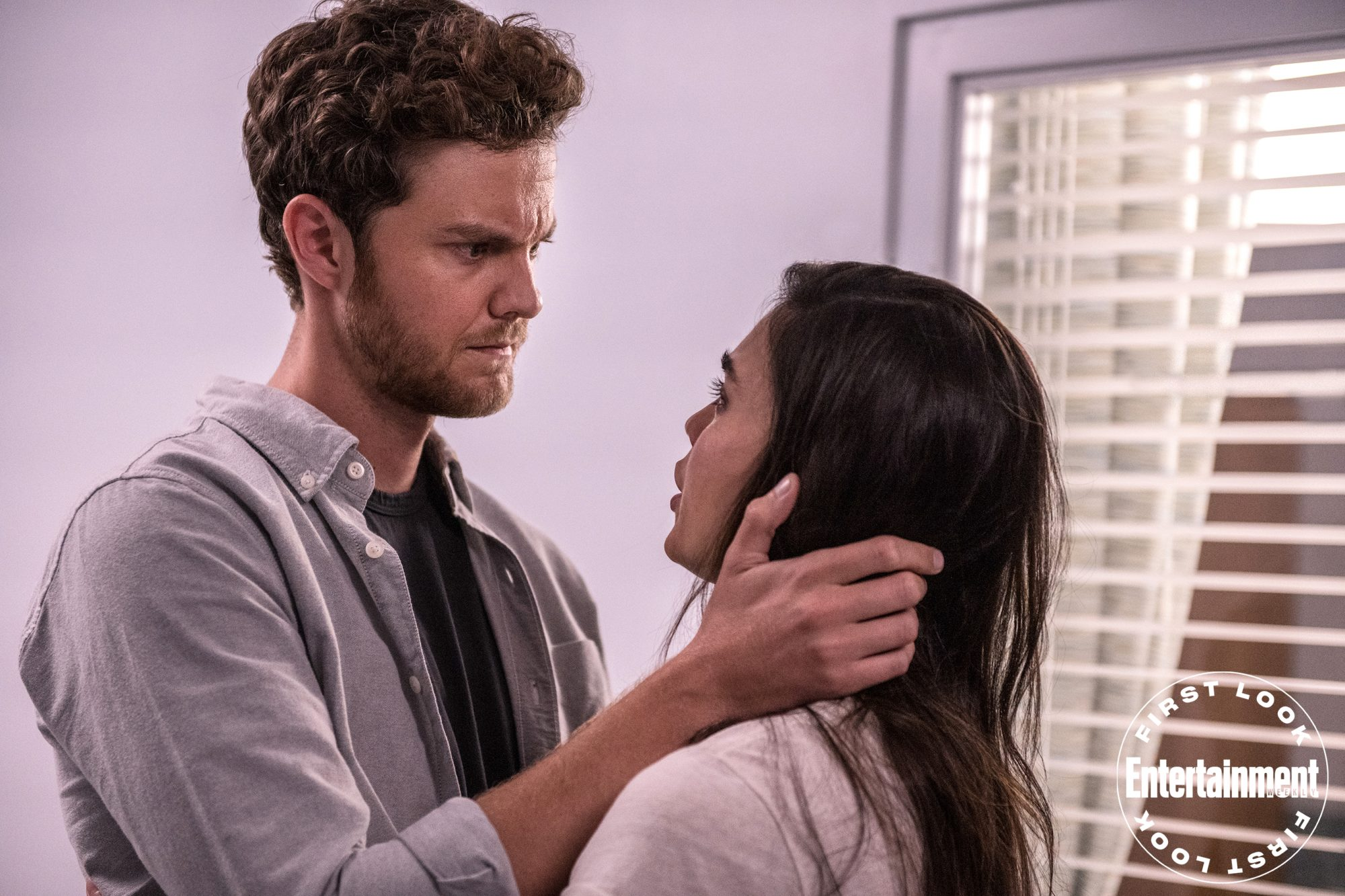 """Jack Quaid (""""Richie"""") and Melissa Barrera (""""Sam"""") star in Paramount Pictures and Spyglass Media Group's """"Scream."""""""