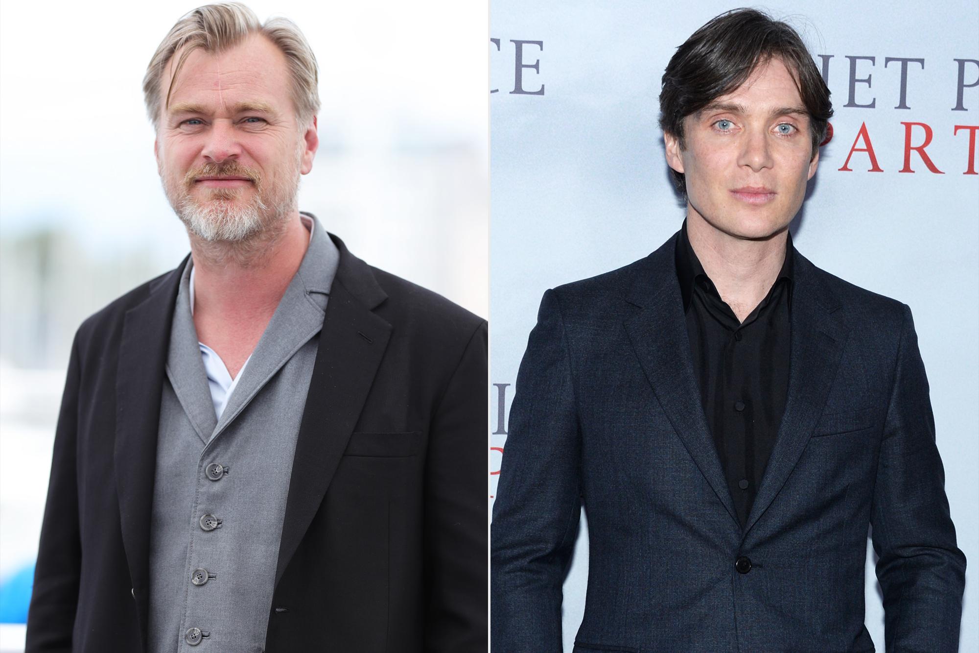 Christopher Nolan and Cillian Murphy