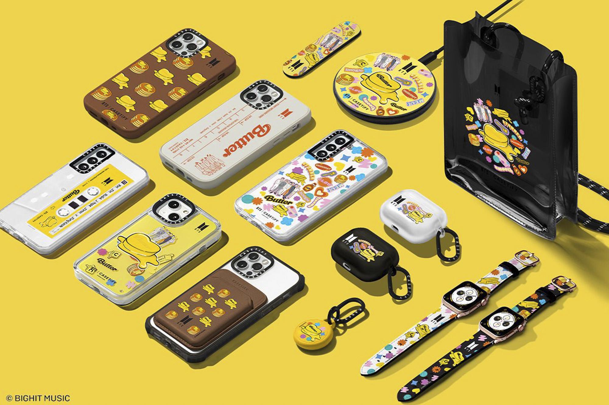 BTS Butter Case Merchandise