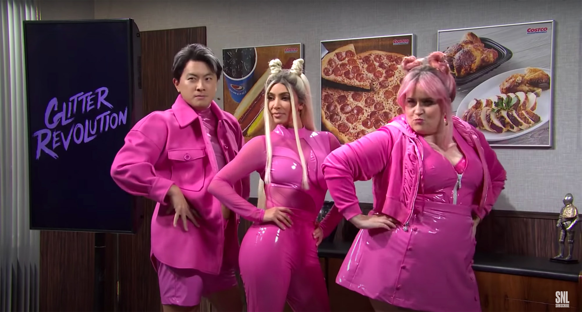 Costco Meeting - SNL Kim Kardashian