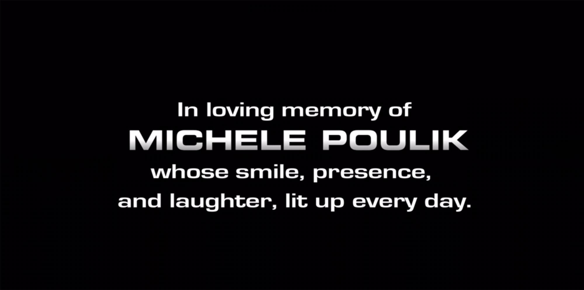 NCIS: Los Angeles Michele Poulik tribute