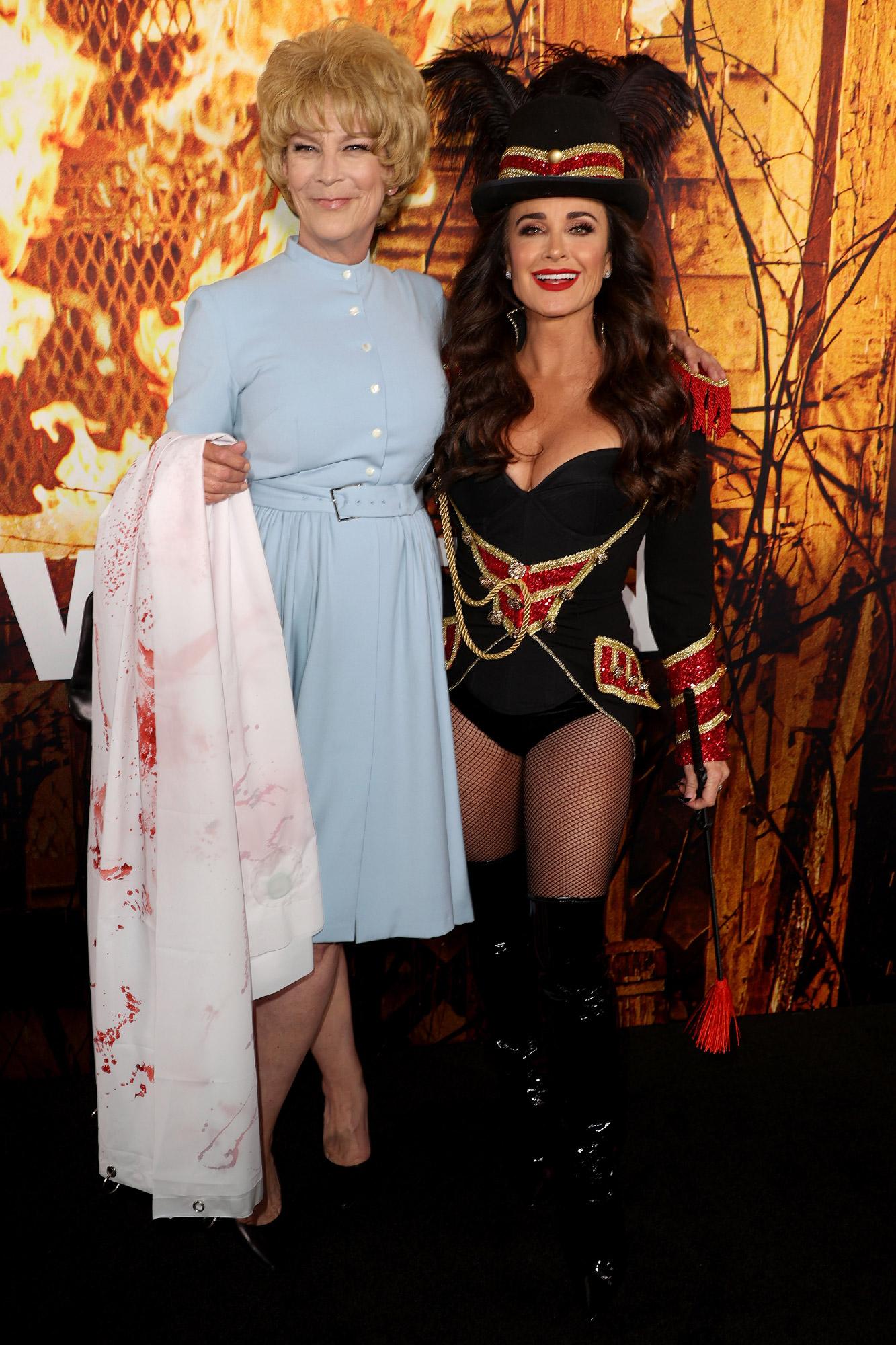 Halloween Kills costume red carpet premiere
