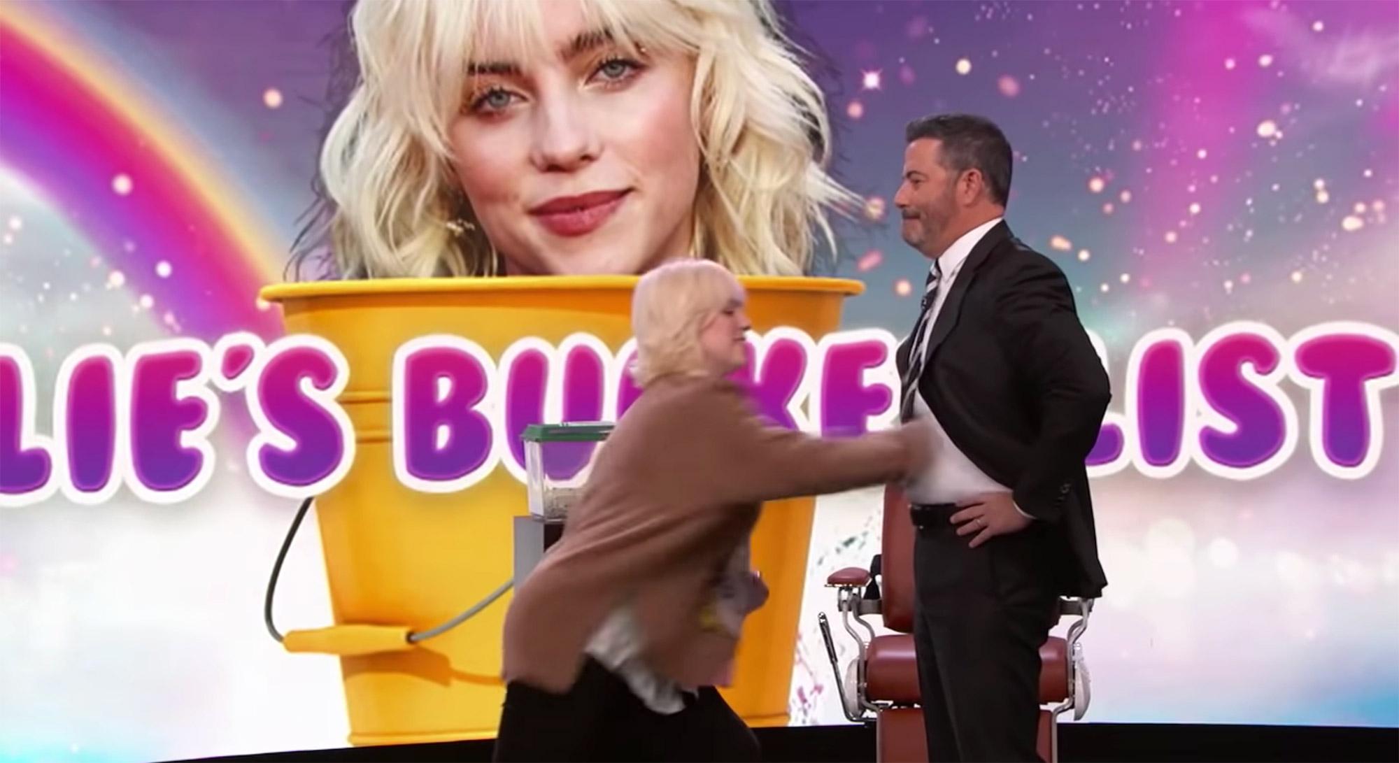 Billie Eilish on Jimmy Kimmel Live!
