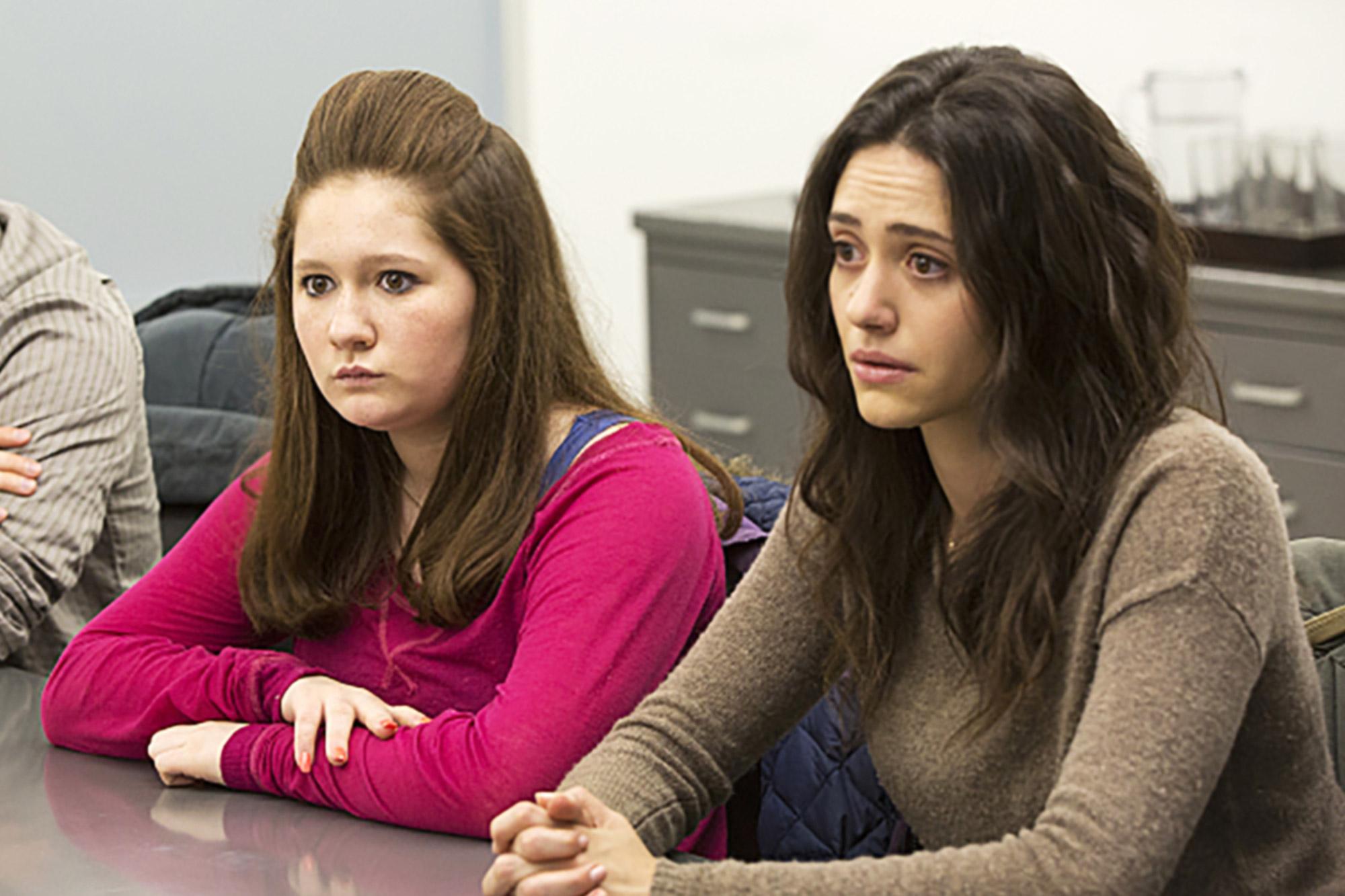 Emma Kenney and Emmy Rossum
