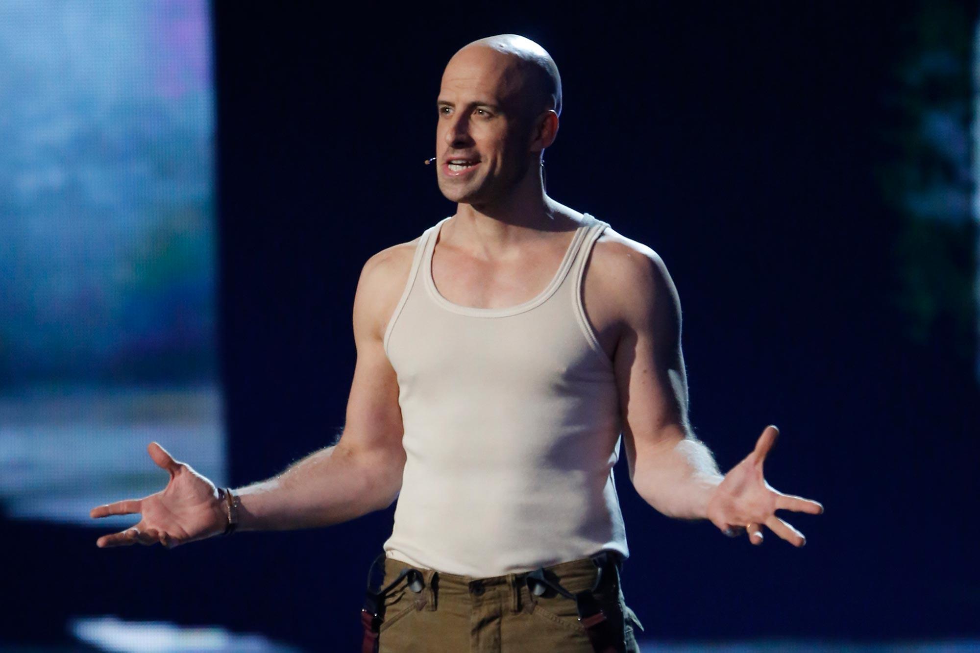 Jonathan Goodwin on America's Got Talent