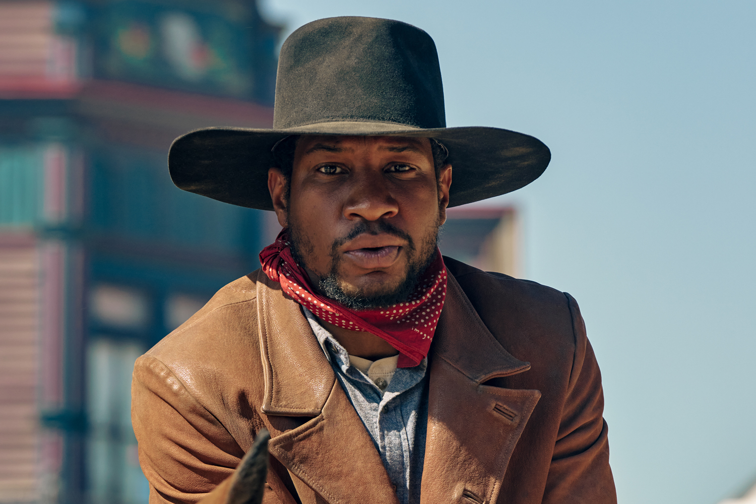 JONATHAN MAJORS as NAT LOVE in THE HARDER THEY FALL