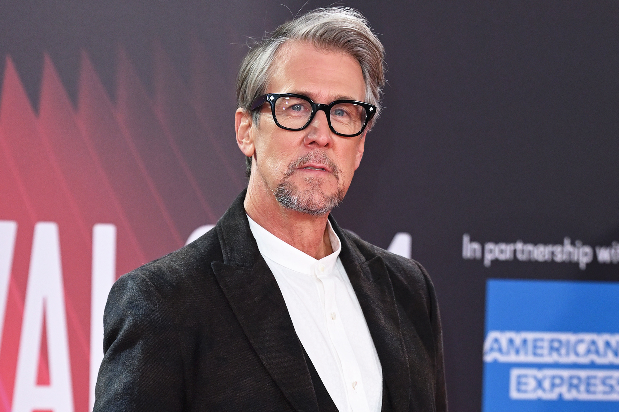 """Alan Ruck attends the """"Succession"""" European Premiere during the 65th BFI London Film Festival at The Royal Festival Hall on October 15, 2021 in London, England."""