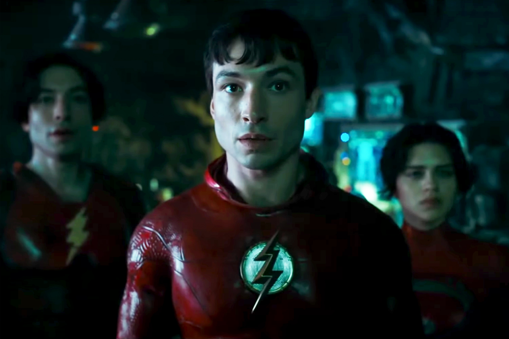 The Flash movie footage shown at DC FanDome