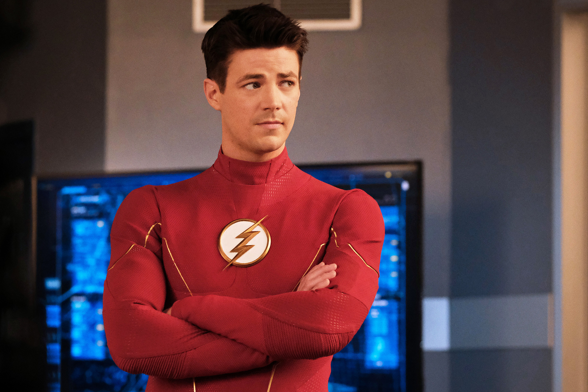 """The Flash """"Heart of the Matter, Part 1"""" Pictured: Grant Gustin as Barry Allen/The Flash"""