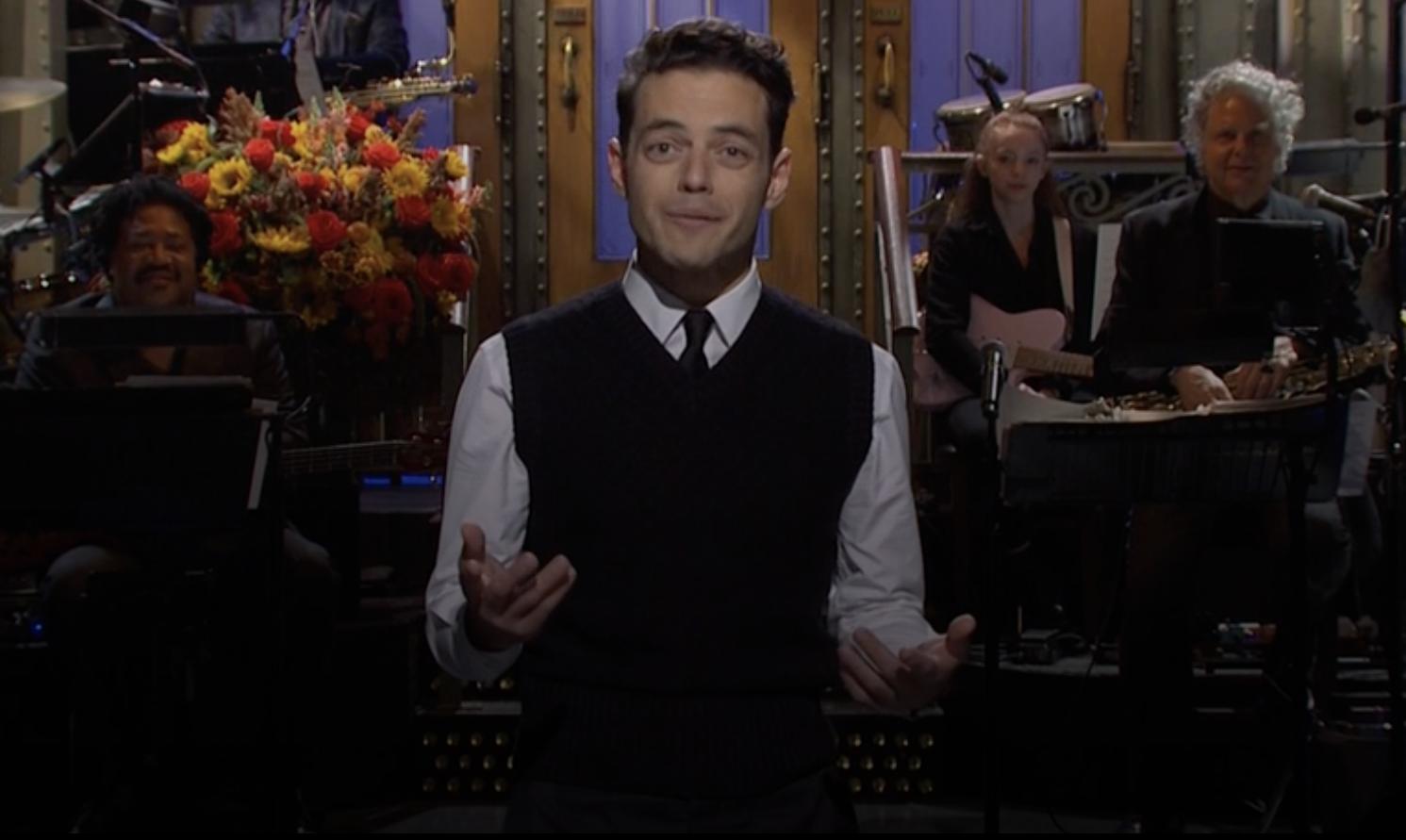 Rami Malek hosts 'SNL'