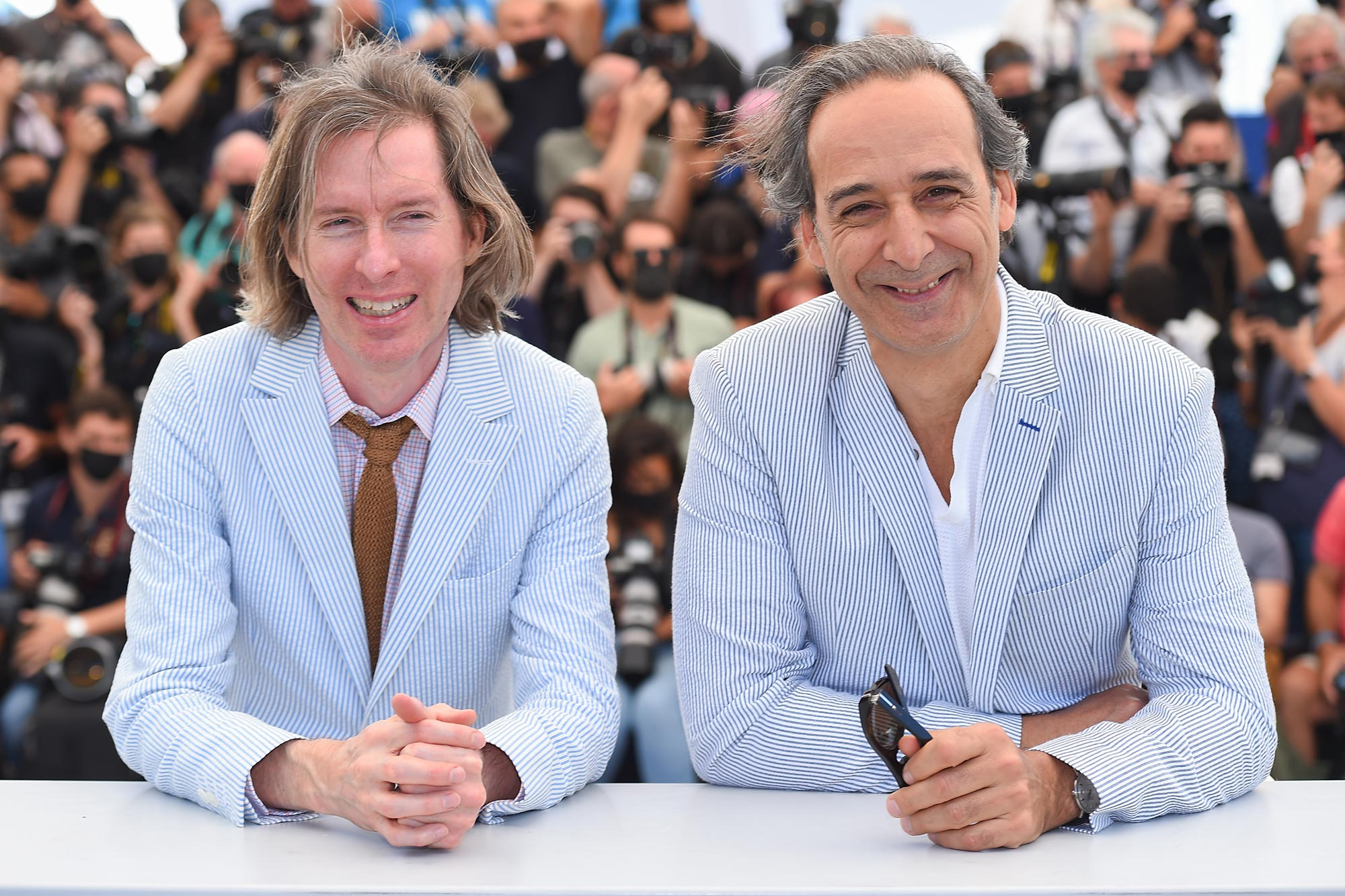 Wes Anderson and Alexandre Desplat