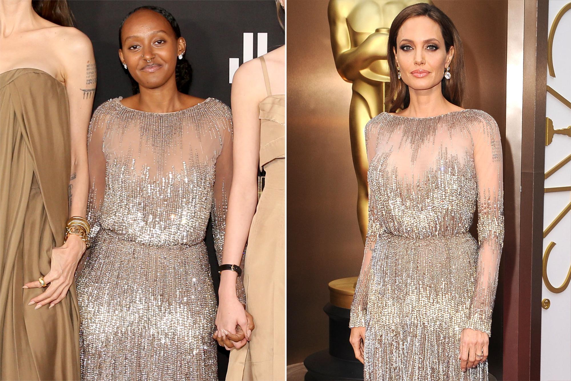 Zahara Jolie-Pitt, Angelina Jolie