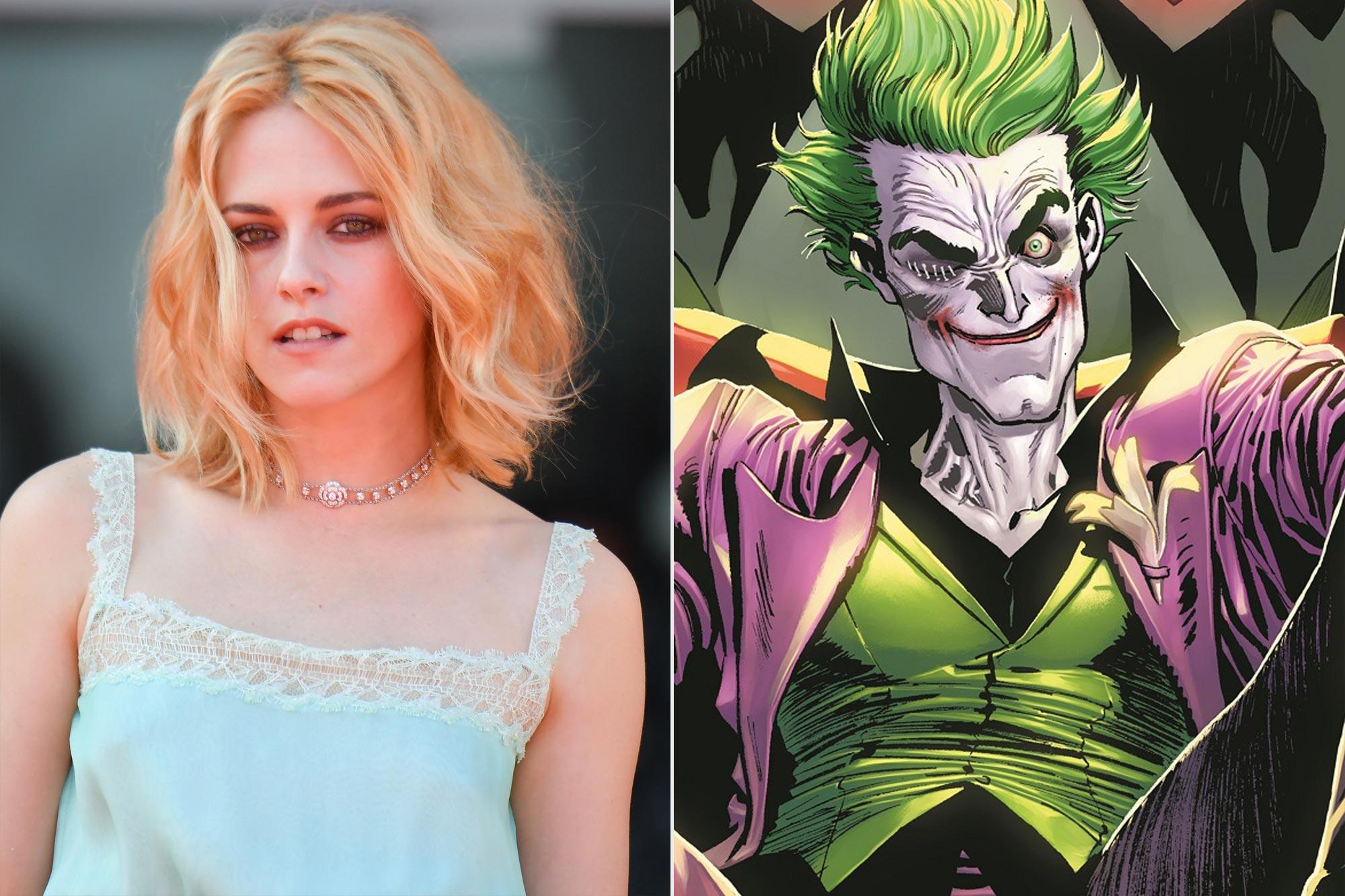 Kristen Stewart; the Joker