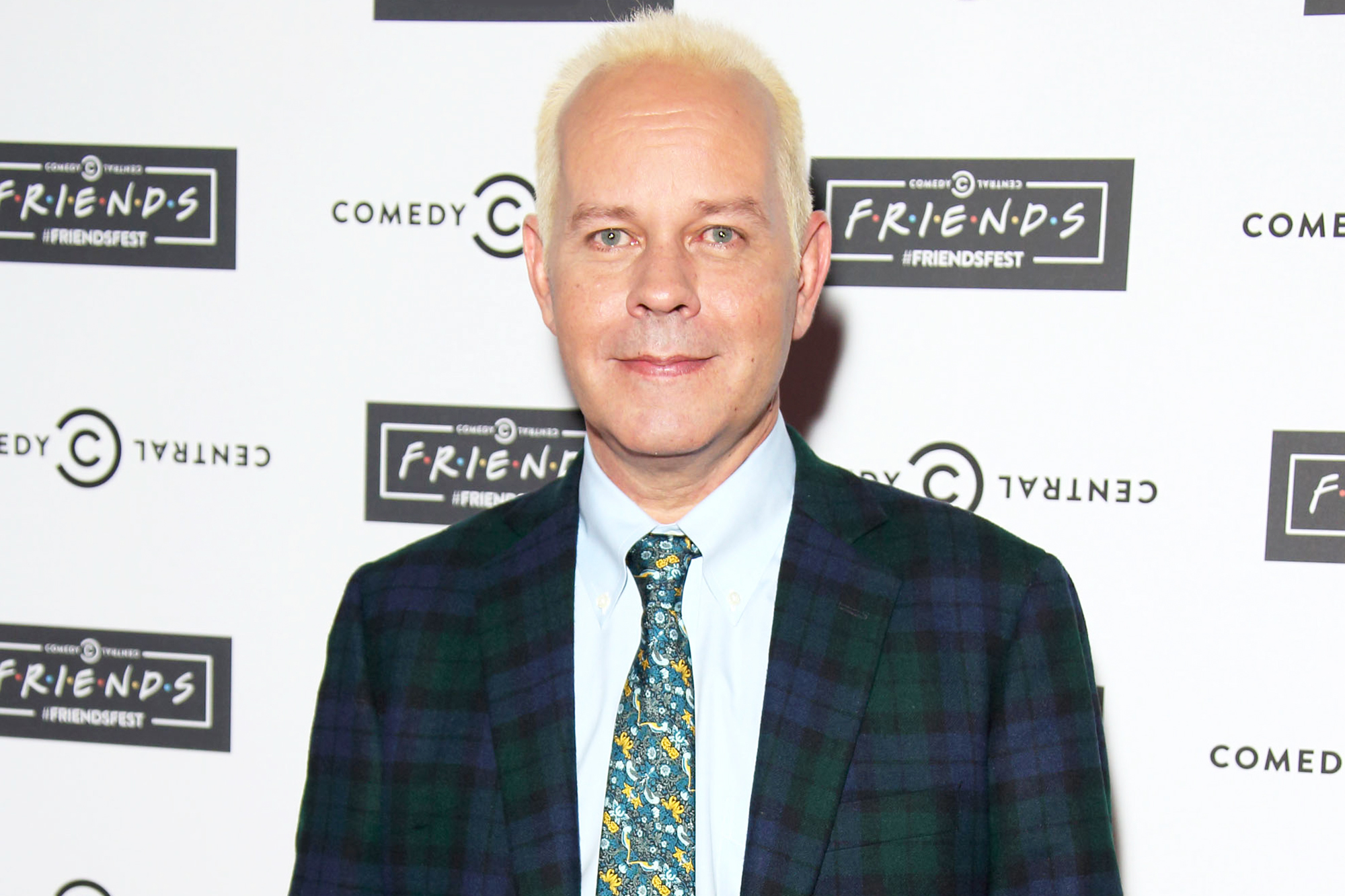 James Michael Tyler attends the launch of Friendsfest at The Boiler House,The Old Truman Brewery, on September 15, 2015 in London, England.